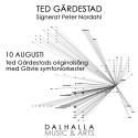 Ted Gärdestad signerat Peter Nordahl till Dalhalla!
