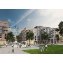 FOJAB arkitekter vinner markanvisningstävling tillsammans med Bonava i Rosendal, Uppsala.