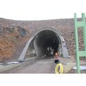Eldon Installations materiel till ställverken i Hallandsåstunneln