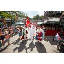Jul og julemænd indtager Bakken i juli