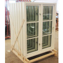 Fönsterfabrik invigs: Fönstertillverkaren Kronfönster inviger Kronfönster , tillverkning av pvc fönster.