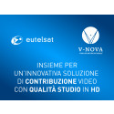 Eutelsat e V-Nova insieme per un'innovativa soluzione di contribuzione video con qualità studio in HD