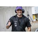 Joakim Forsell kör V8 Thunder Cars för Bryntesson Motorsport