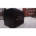 Den första september invigs Karlfeldtgymnasiets kub för mänskliga rättigheter i Kungsträdgården