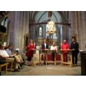 Klimatdebatt med Bolund i Visby domkyrka