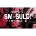 Grattis LFC! Fira guldlaget på Stora Torget på måndag