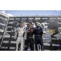 Puhakka och Hall tog medaljerna bakom Lundqvist i Formula STCC Nordic