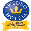 Sweden Hotels Gala 2015 - nomineringar Årets Bästa Hotellfrukost 2015