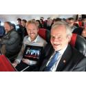 TV 2 Nyhetskanalen om bord på Norwegian