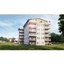 HSB byggstartar 21 lägenheter vid Strandpromenaden i Härnösand