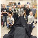 Avtäckning av Clear River Racings nya bil