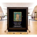 Stiller ut originalverk av Munch på Avinor Oslo lufthavn