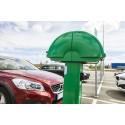 Norrtälje kommun minskar klimat- och miljöpåverkan - använder elbilpool för kommunala tjänsteresor