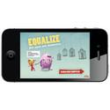 Equalize-app, startmenyn (tif, cmyk)