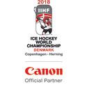 Canon sponsoroi jääkiekon MM-kisoja Tanskassa