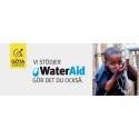 Göta Energi blir huvudpartner till WaterAid
