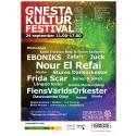 Affisch till Gnesta kulturfestival