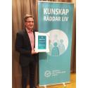 RCC Syds processledare Christer Borgfeldt får Eldsjälspriset