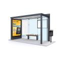 Nya väderskydd på busshållplatser