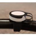 Tryck på knappen visar lundacyklisters säkerhet