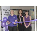 Vision in purple - new Bideford optician launches with stroke healthcare campaign to tackle 'silent killer'