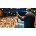 Förtydliga ditt budskap under stora möten med nya SMART Podium 624