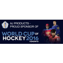 AJ Produkter stolt sponsor av World Cup of Hockey