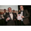 ZÜBLIN A/S wins the prestigious Danish-German Business Award 2017