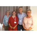 Leading experts in deaf-blindness visit Iceland