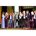 Screen Interaction tar emot pris tillsammans med Länsförsäkringar på årets Design S gala