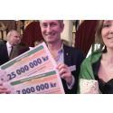 PostkodLotteriet delar ut 32 miljoner till Plan International Sverige