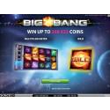 Big Bang video slot is here