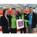 Asda Radcliffe workforce checkout ways to get active
