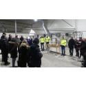 Alla dalakommuner på plats när förbehandlingsanläggningen på Fågelmyra invigdes