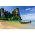 Uden mellemlanding til Krabi til vinter - det betyder billige rejser til fantastiske strande!