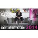 Carolina Falkholt Västra Götalandsregionens kulturpristagare 2014