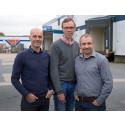 Team AD Sverige, Micael Lindh, Brynolf Johansson och Adam Källberg.