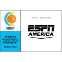 ESPN America ny sponsor till Svenska Basketbollförbundet och 3x3