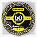 Stanley firar PowerLock® 50 år med en begränsad guldfärgad upplaga av PowerLock®!