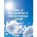 Ladda ner och läs Umeå Energis hållbarhetsredovisning för 2015