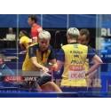 Matilda Ekholm med coach Peter Sartz