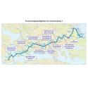 150902 Linje 1 - Karta med åtgärder