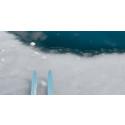 Dårlig is i påskefjellet i Hallingdal