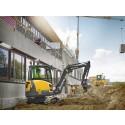 Volvo ECR35D minigrävare - bild från arbetsplats