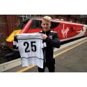 Virgin Trains sponsorship just the ticket for Darlington football fans