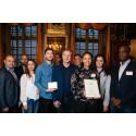Entreprenörer prisas på Tessinska Palatset
