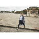 Franska stilikonen Jeanne Damas visar upp Ellos höstikoner i ny kampanj