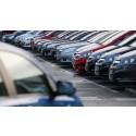 Försäljningen av begagnade personbilar ökade med 10,5 % i mars
