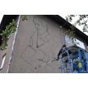 Sipoossa maalataan kokonaisen talon kattava taideteos