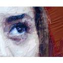 Ramazan Bayrakoğlu, detalj ur Kardelen, tyg sytt på duk, 144 x 245 cm